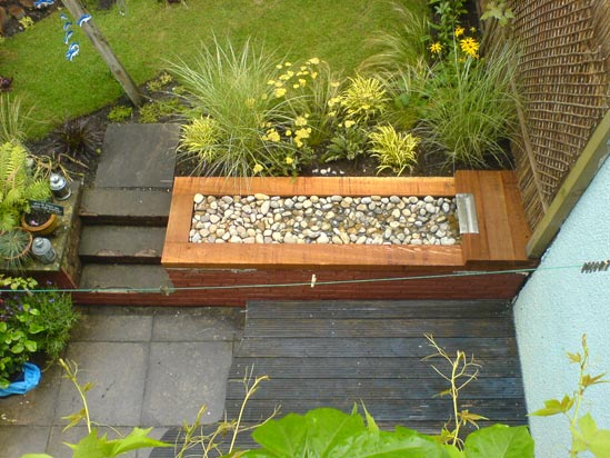 Budget garden makeover images for Garden makeover ideas