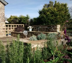 Rural Barn Conversion Garden